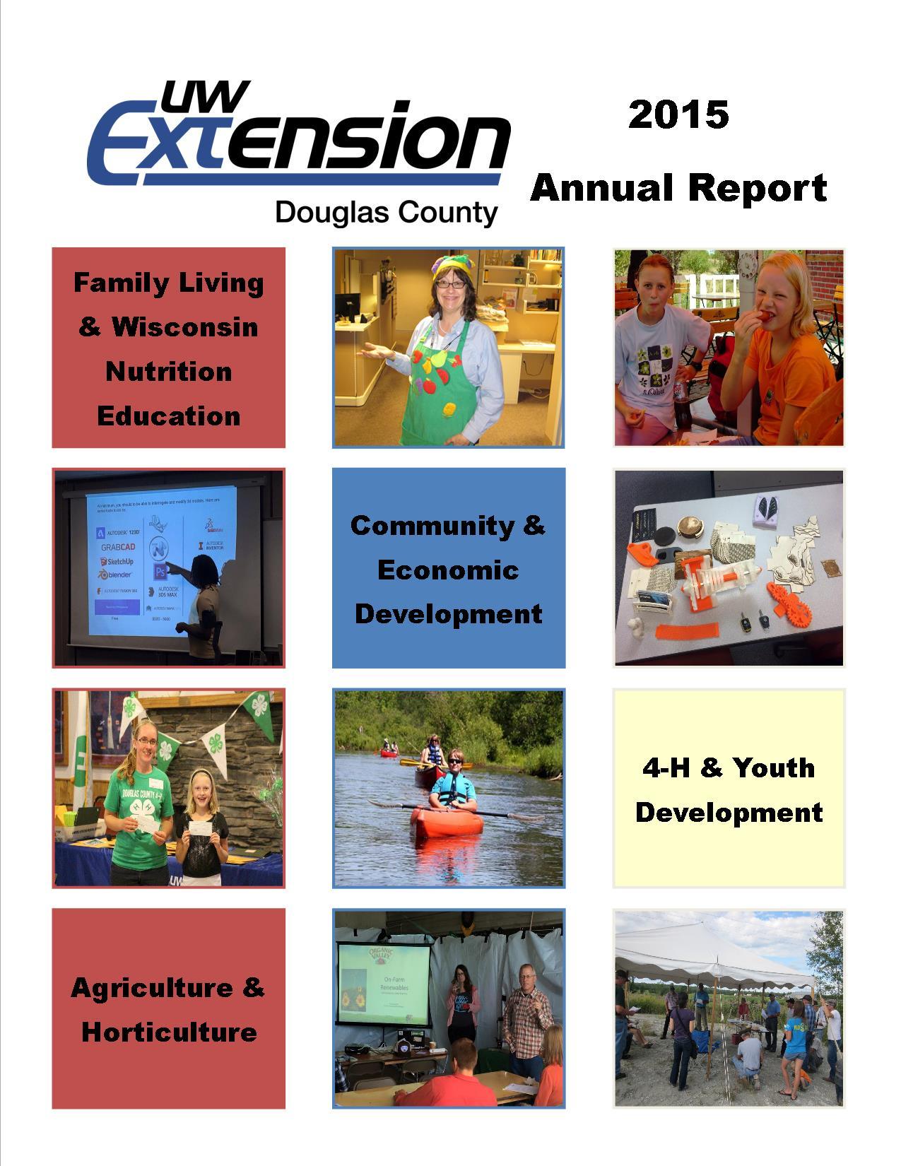 2015 Annual Report UWEX_Douglas Cover